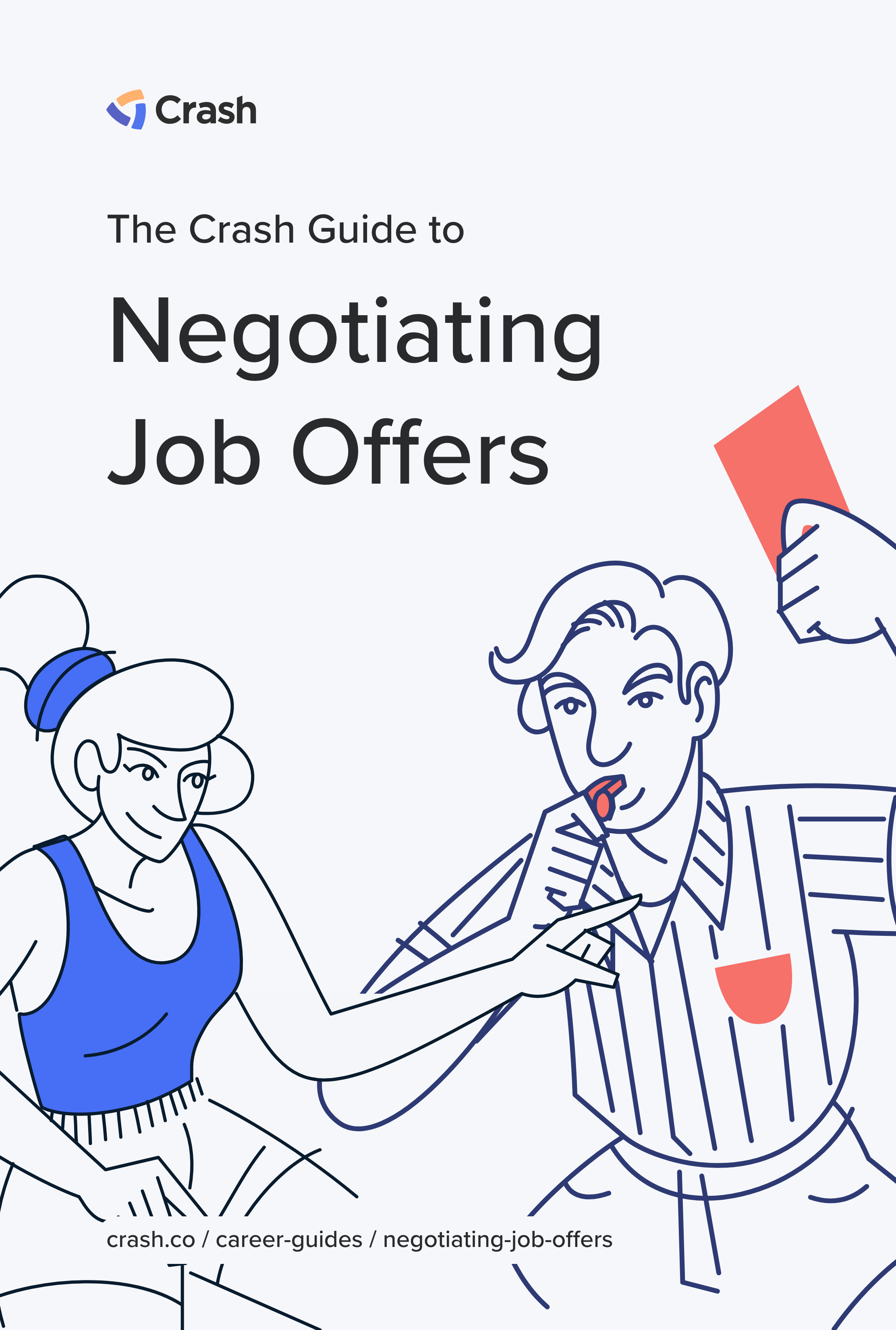 negotiating job offers crash career guide cover image