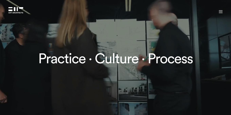 Webseite CHT Architects