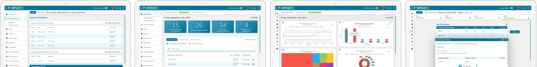 PERFEQTA business management software
