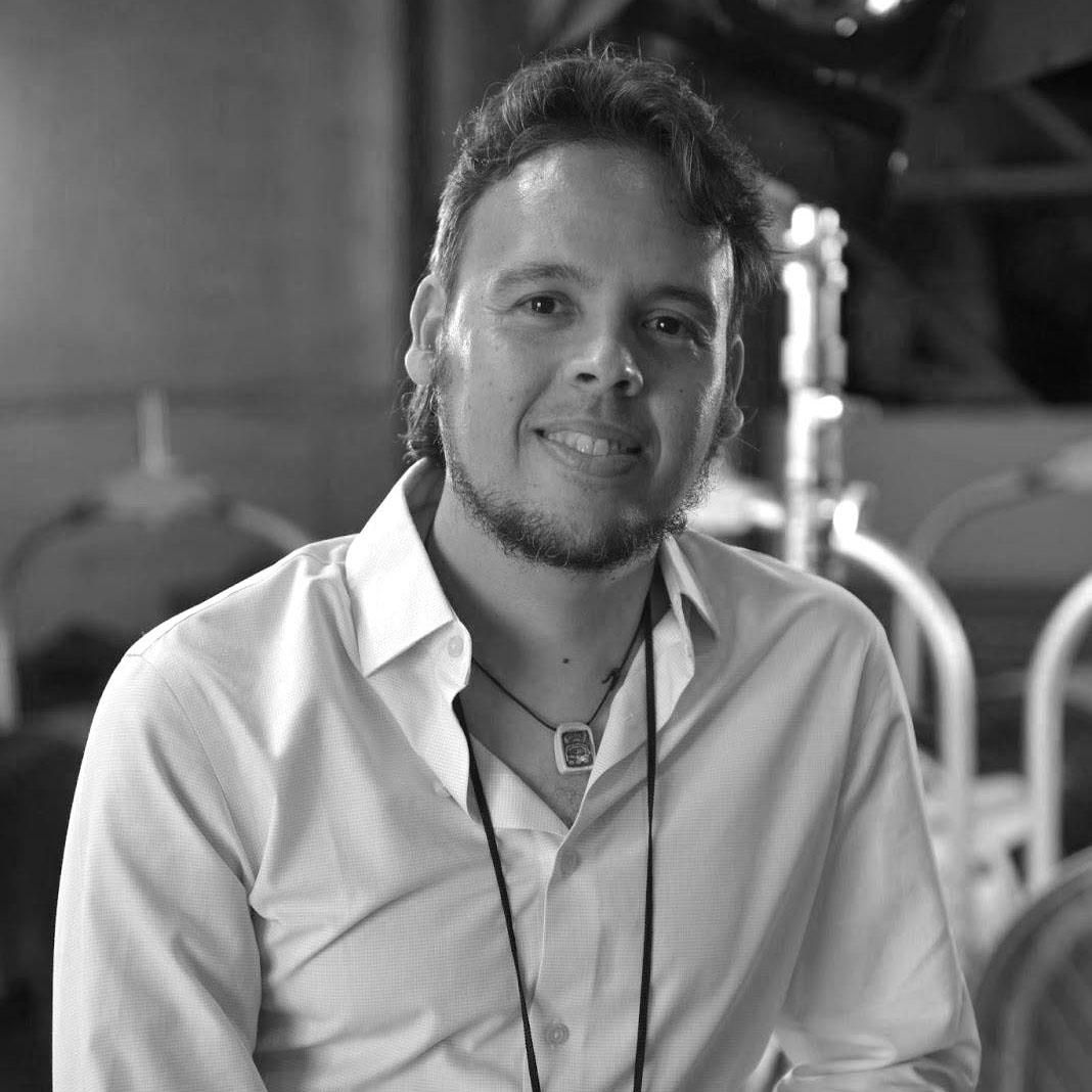 Bio section photo of Producer Javier Badillo.