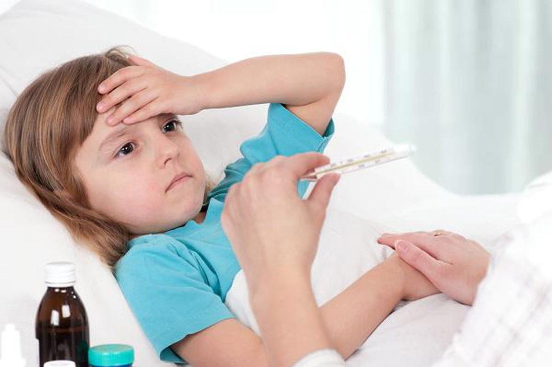 Khi bị ốm, trẻ thường biếng ăn hơn bình thường
