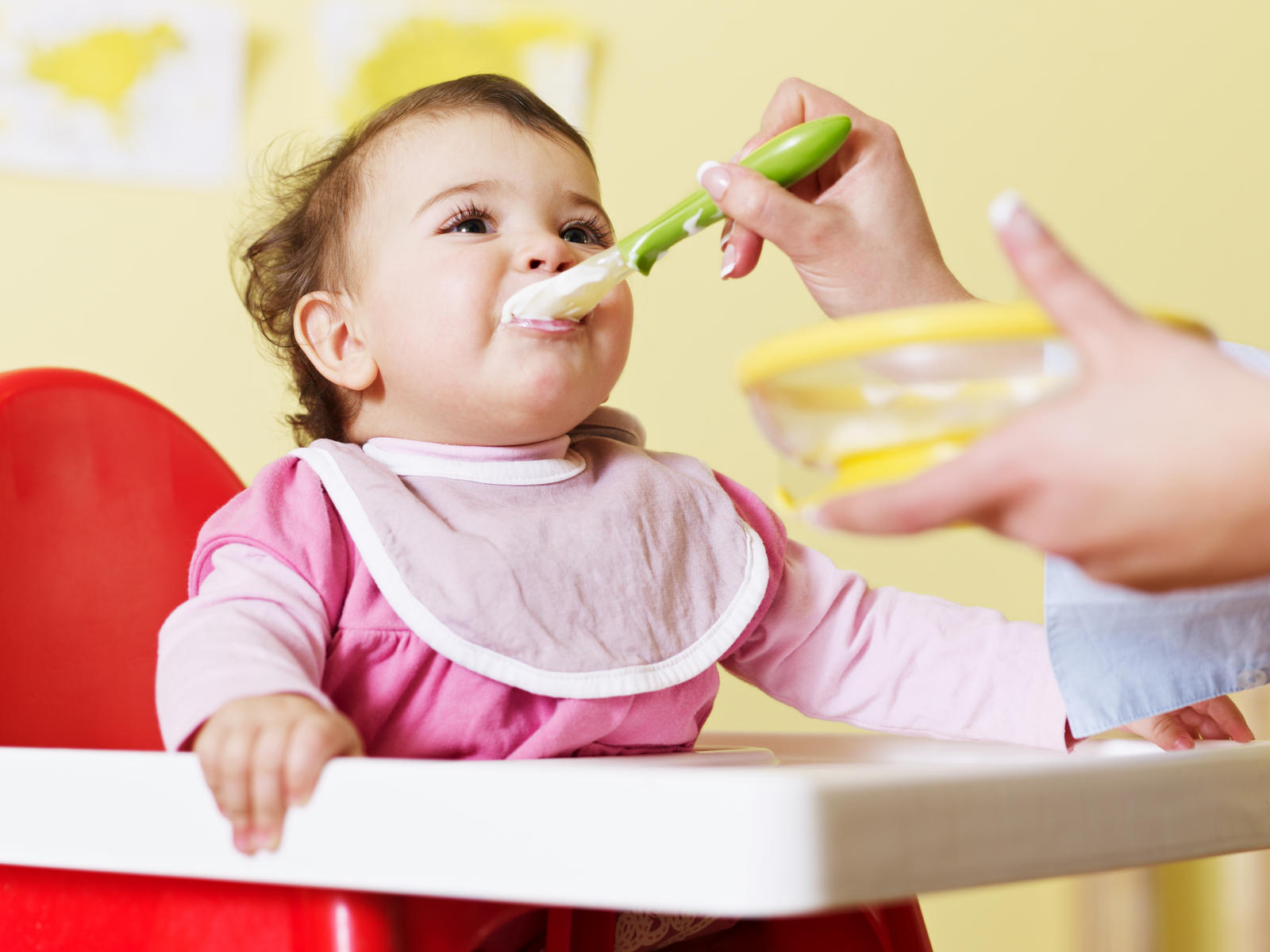 Trẻ 1-2 tuổi biếng ăn