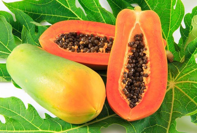 Đu đủ là trái cây rất tốt cho bệnh nhân sốt xuất huyết