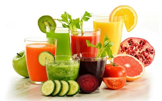 Bệnh nhân sốt xuất huyết nên bổ sung nhiều trái cây và rau củ tươi