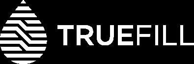 TrueFill Inc. White Logo
