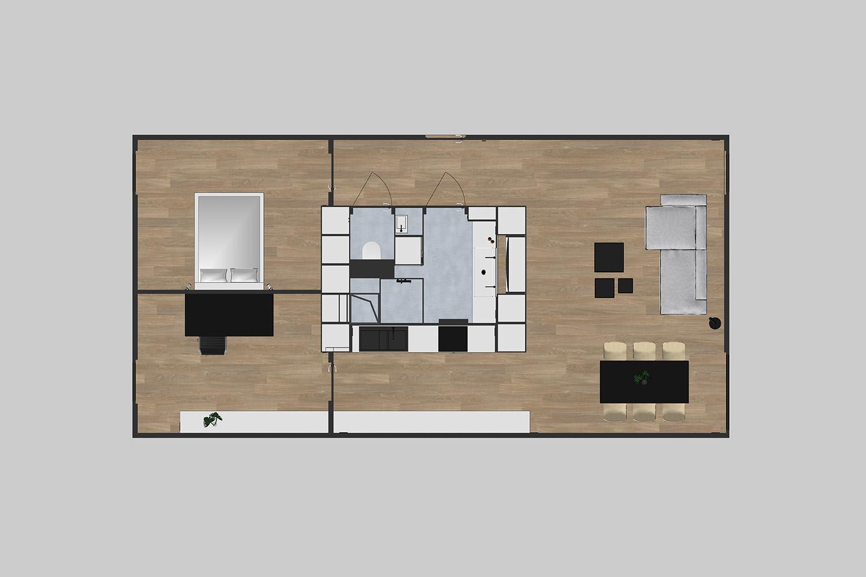 Floor plan - showroom
