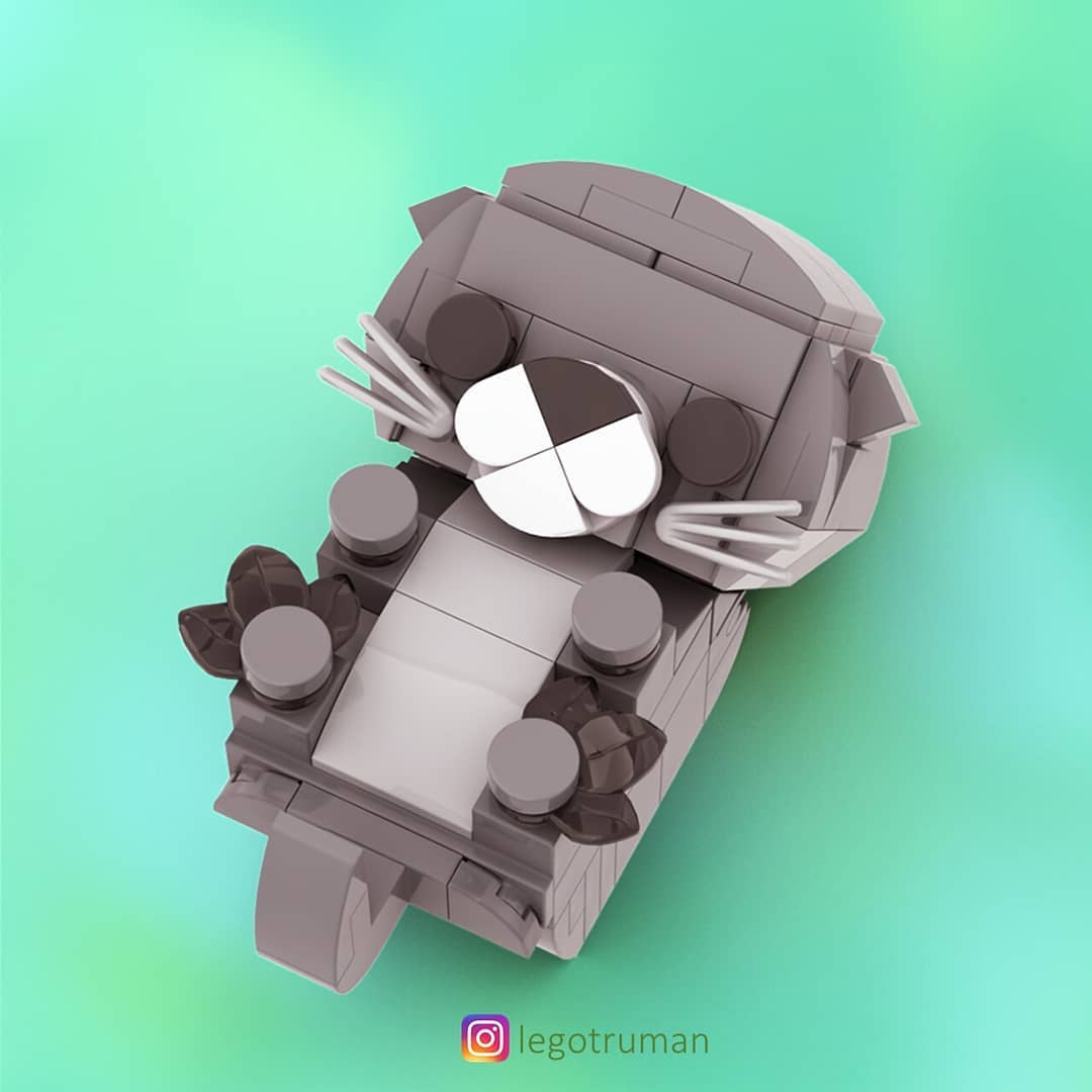 Lego Otter