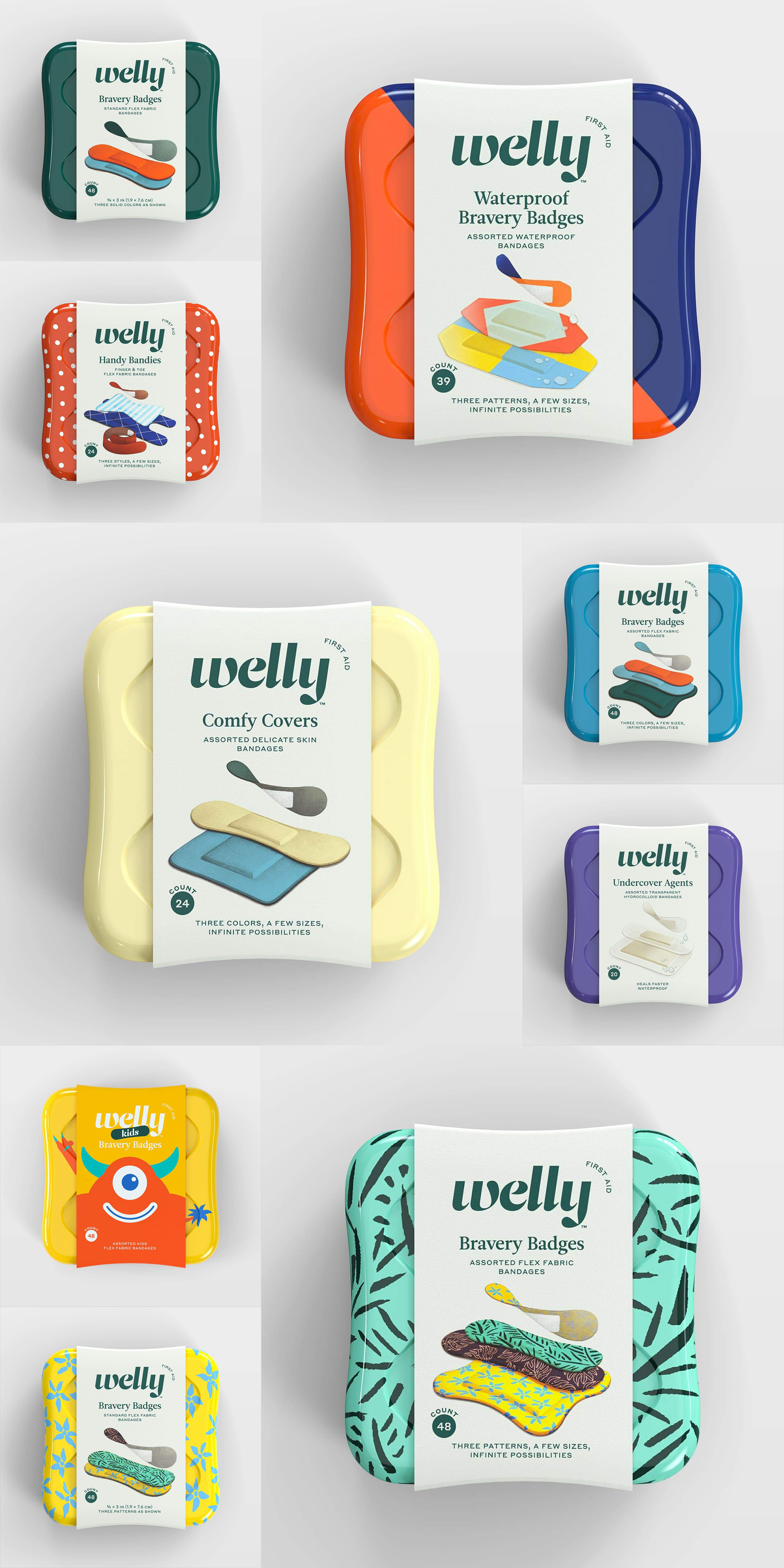 Welly Brand Packaging Design