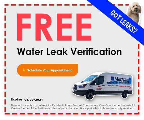 Free Water Leak Verification Offer