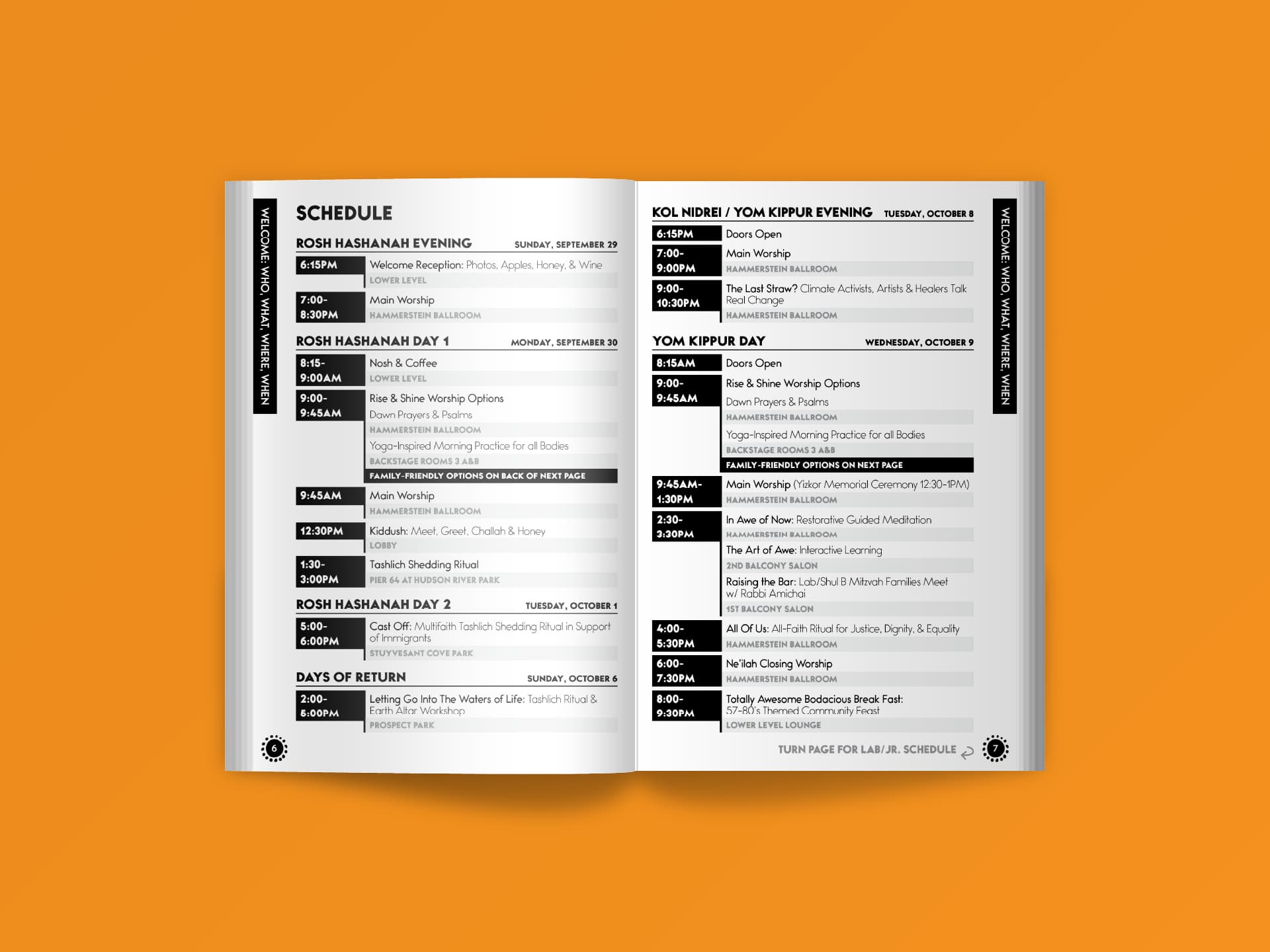 Program (Pages 6-7)