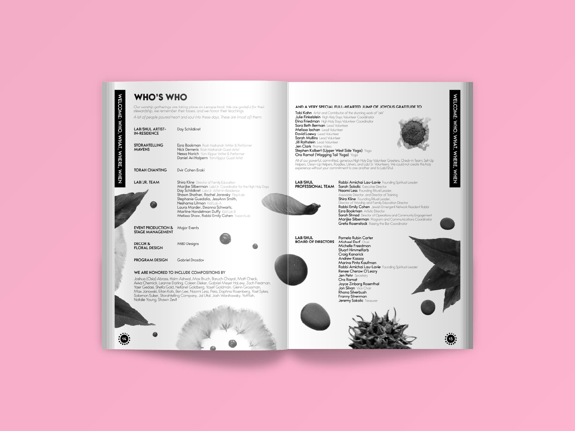 Program (Pages 14-15)