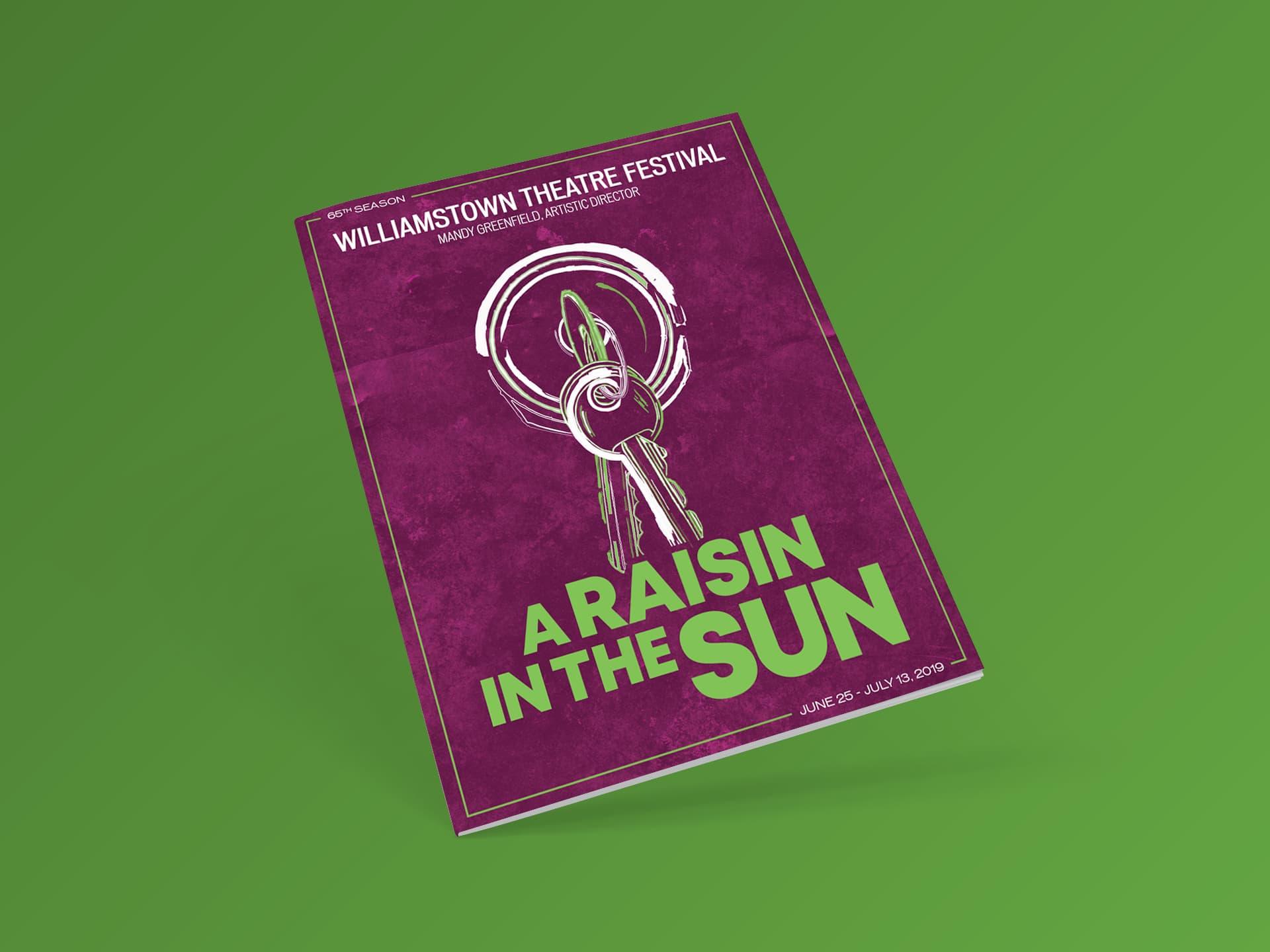 Program Cover (A Raisin in the Sun)