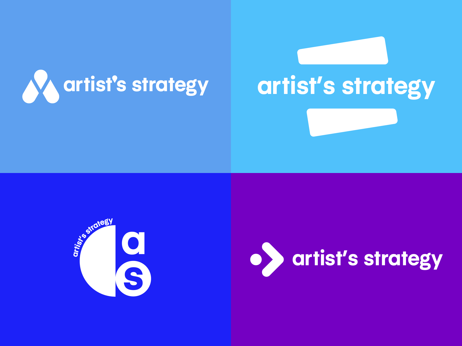 Artist's Strategy Logo Concepts