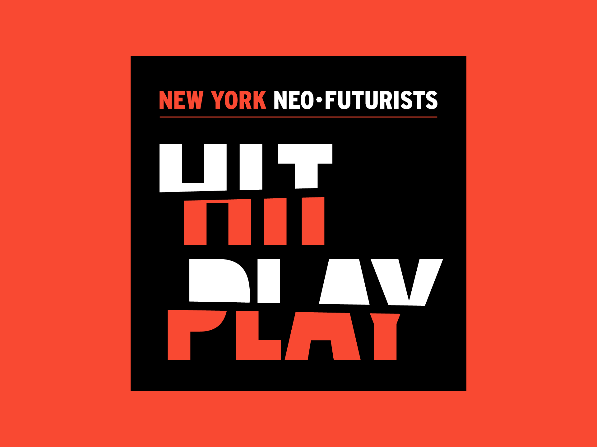 New York Neo-Futurists Logo