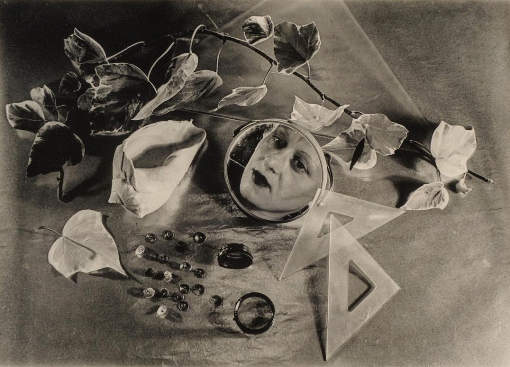 bauhaus photography woman reflecting in a mirror