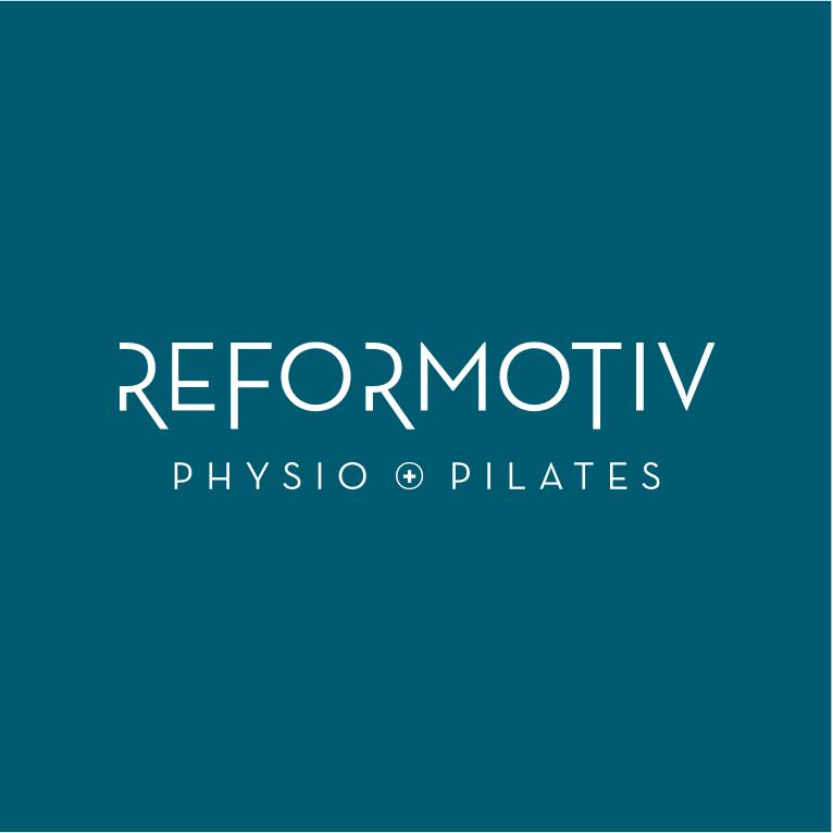 Reformotiv logo design by Jennifer Miranda and Flipside Creative.