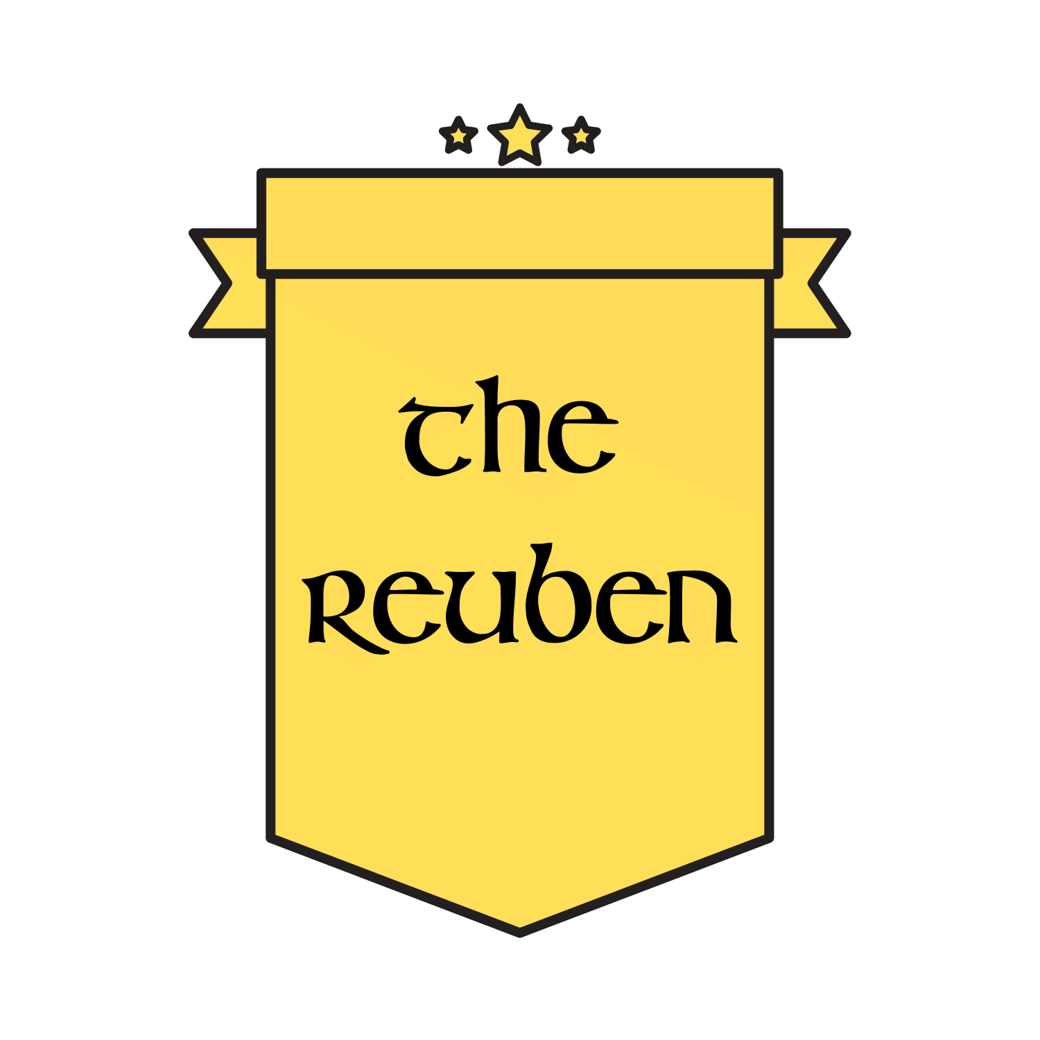 The Reuben sub of the month logo.