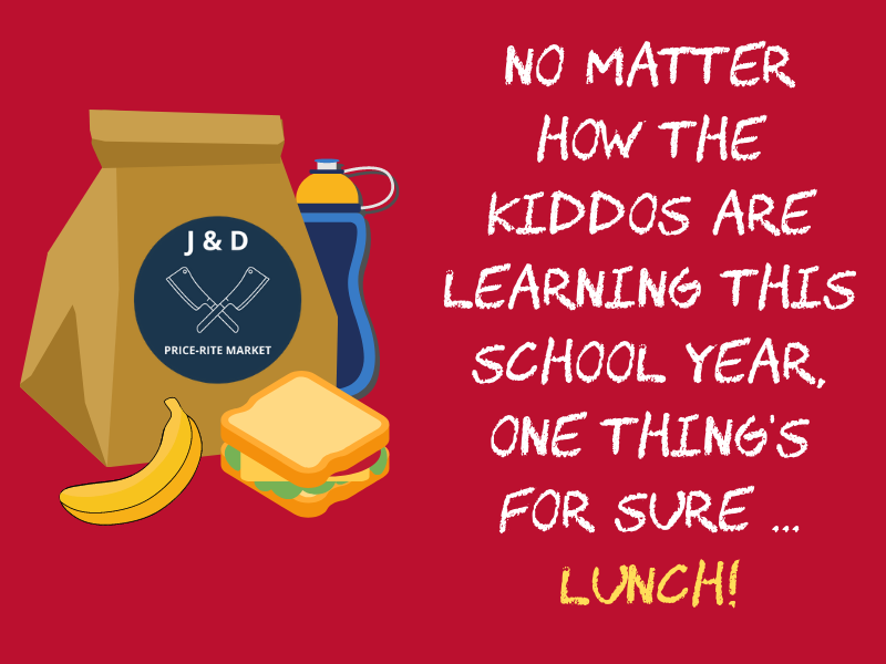 Back to School special graphic