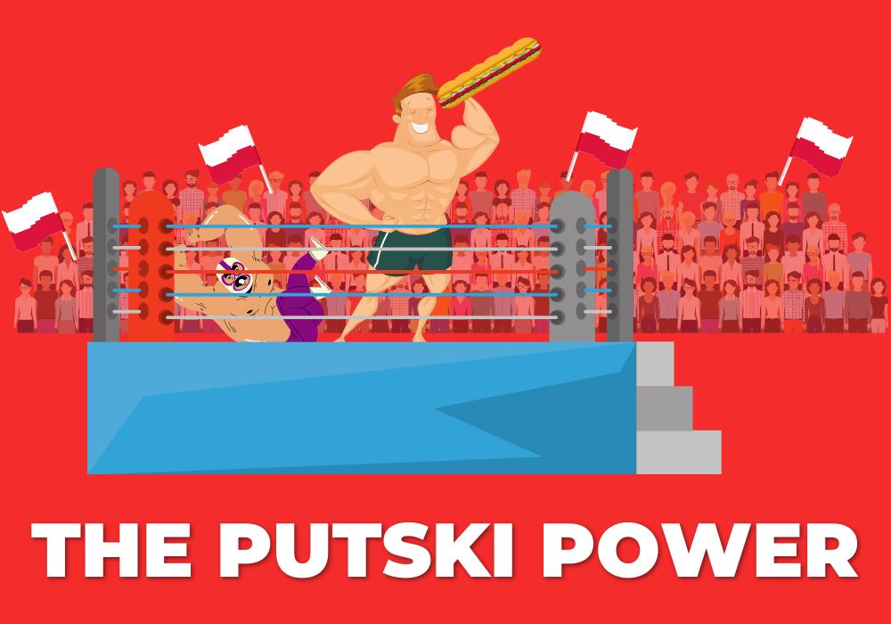 The Putski Power sub logo