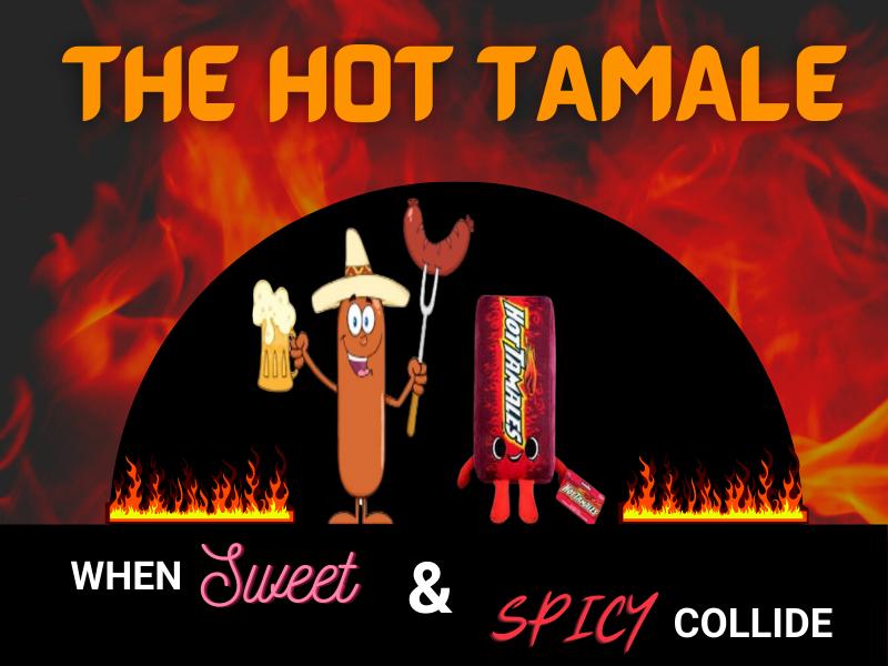 The Hot Tamale sausage logo