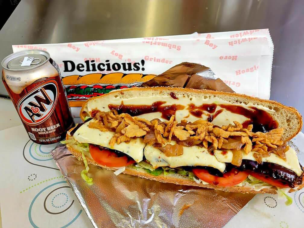 Cowboy Burger sub.