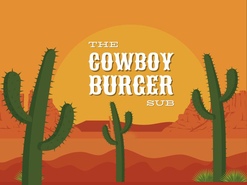 Cowboy Burger sub logo.