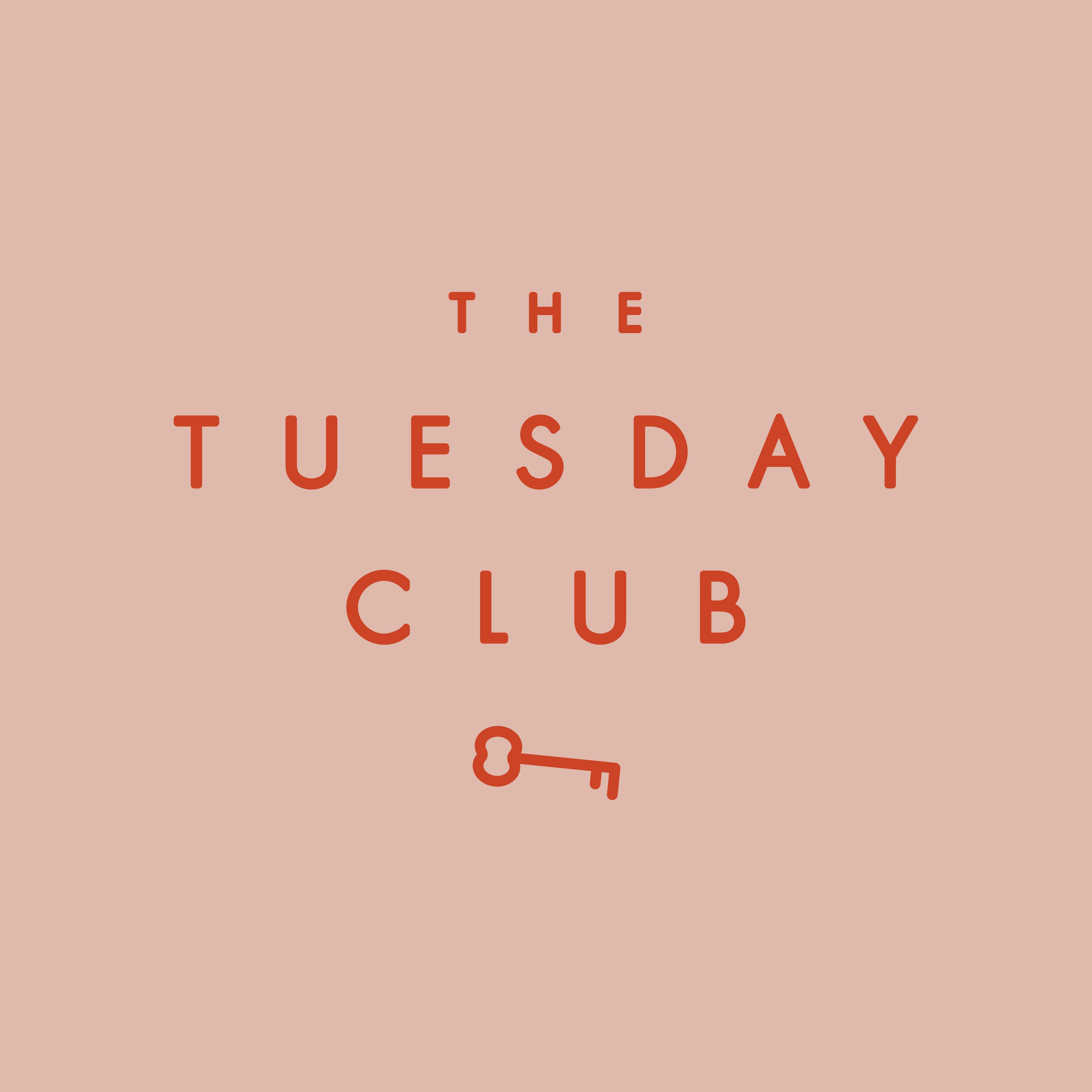 Logo design for The Tuesday Club.