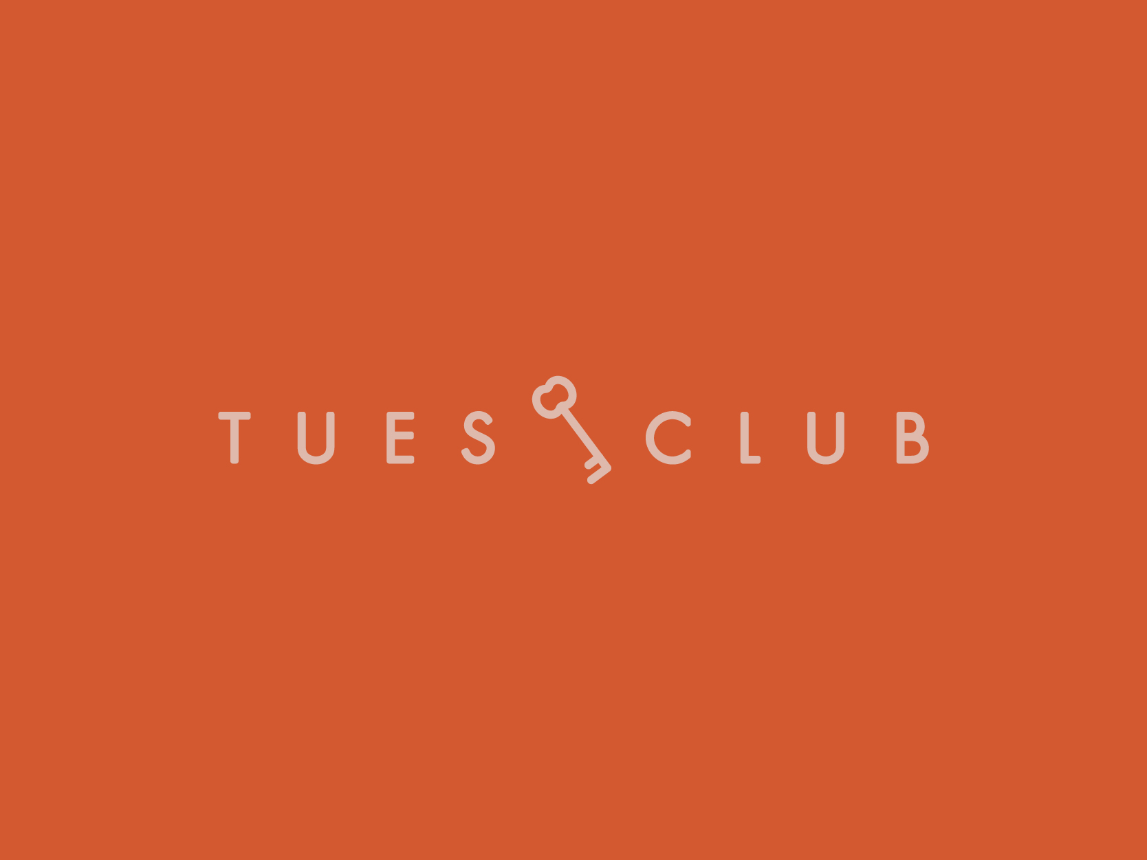 Secondary logo for The Tuesday Club.
