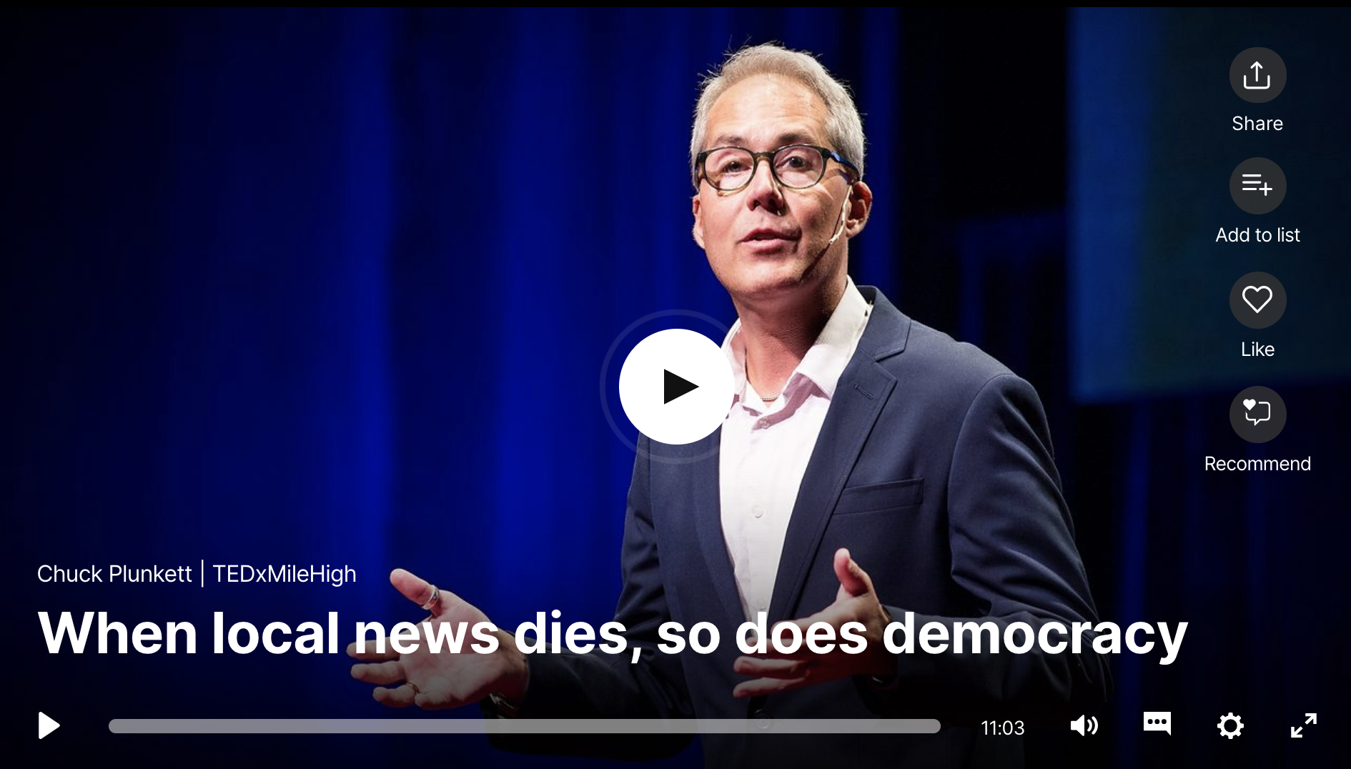 When Local News Dies, So Does Democracy
