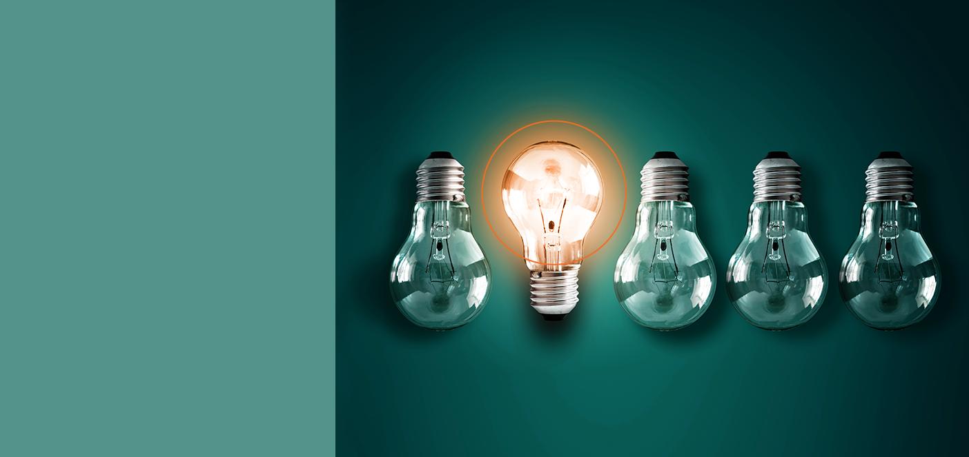 TaskLogix Lightbulb background