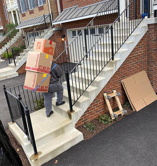 Our Fairfax movers are trained to move your home carefully and efficiently.