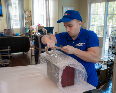 Our packers and movers will handle all of your small items in your household, so you don't have to.