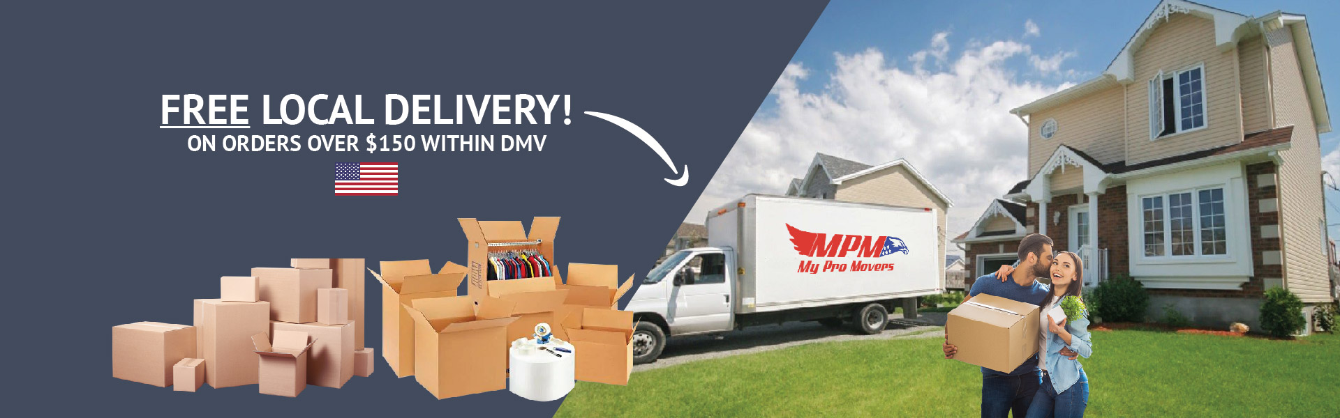 Northern Virginia Moving Supply Store