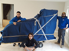 Piano Moving in Northern Virginia is easy with the help of our pro moving team.