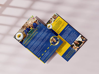 Sudell Primary School Marketing Flyer