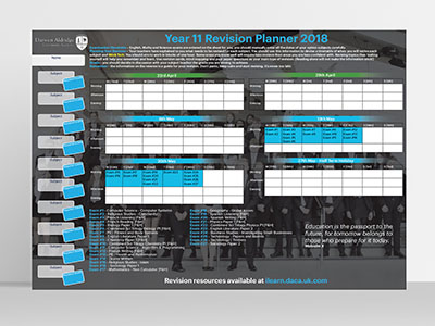 DVHS Wall Planner