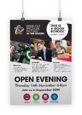 DAES School Marketing Flyer