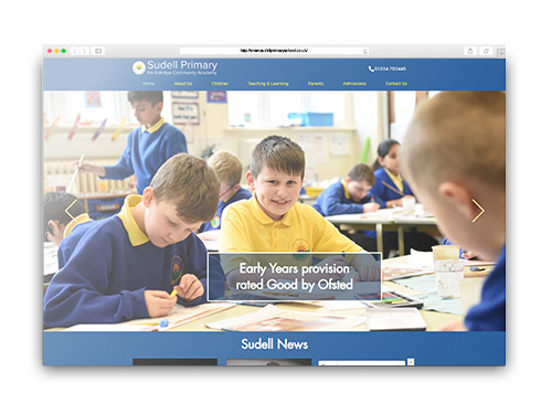 Sudell Primary School Website