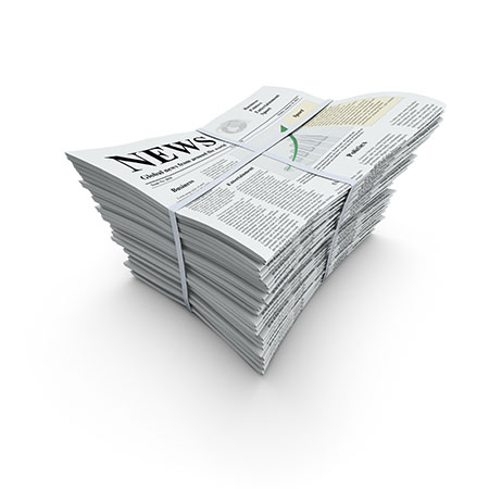News Paper Graphic