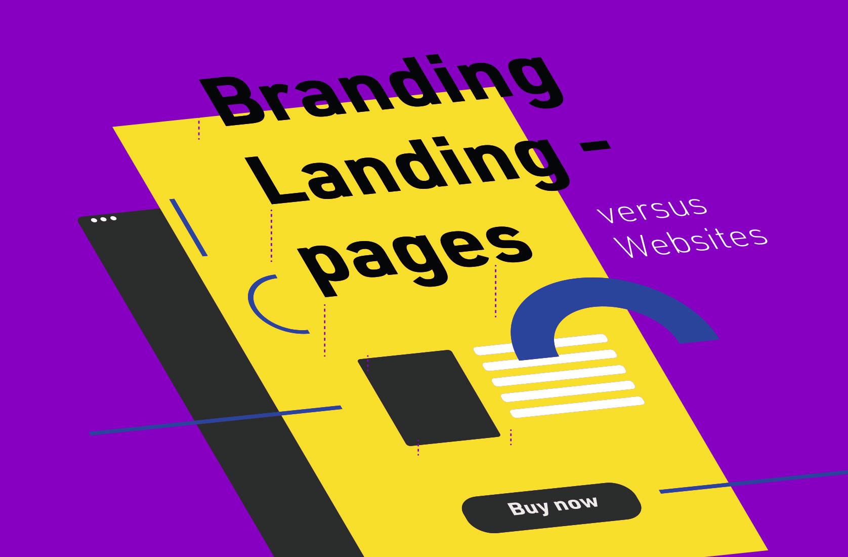 Branding Landingpage oder Website – was ist jetzt das Richtige?