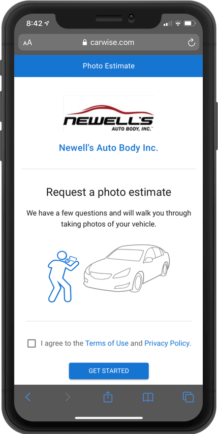 Photo Estimates for Collision Repair