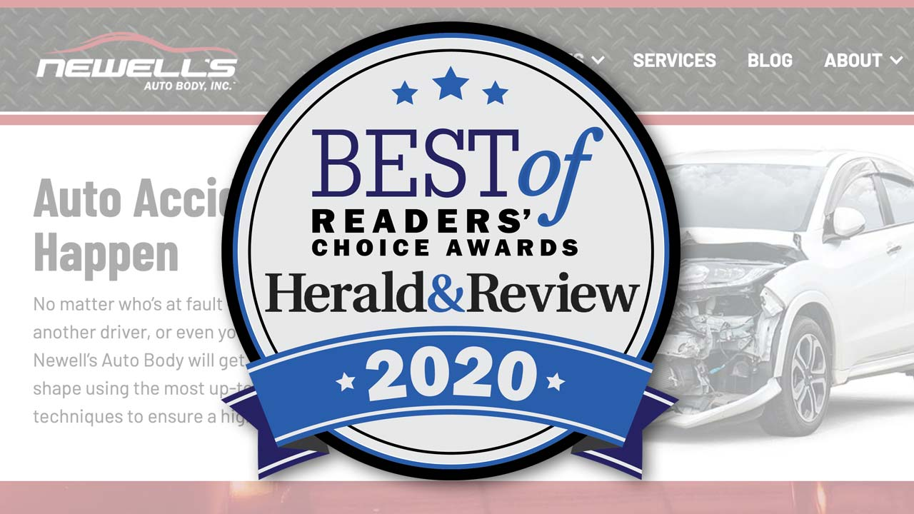 You Voted us Best Auto Body Shop in the Decatur, IL Area!