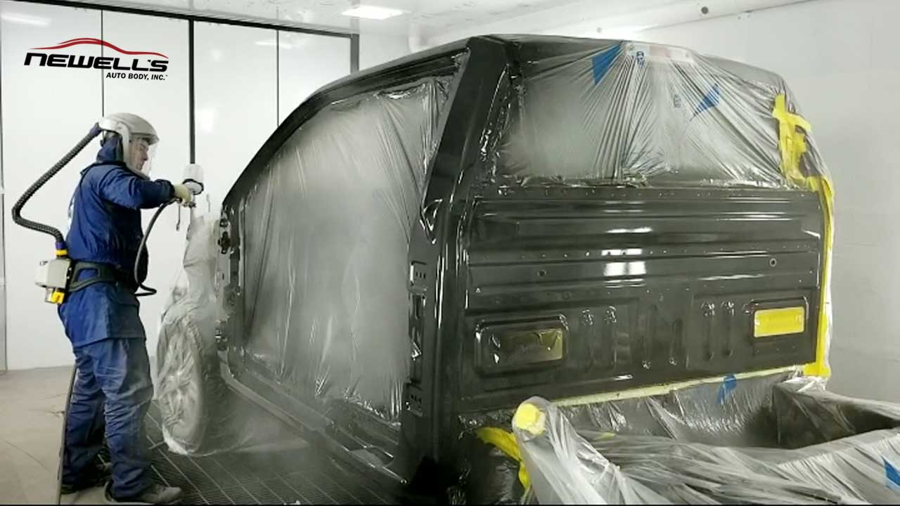 State-of-the-Art Technology Helps Newell's Provide the Best Quality Auto Refinishing