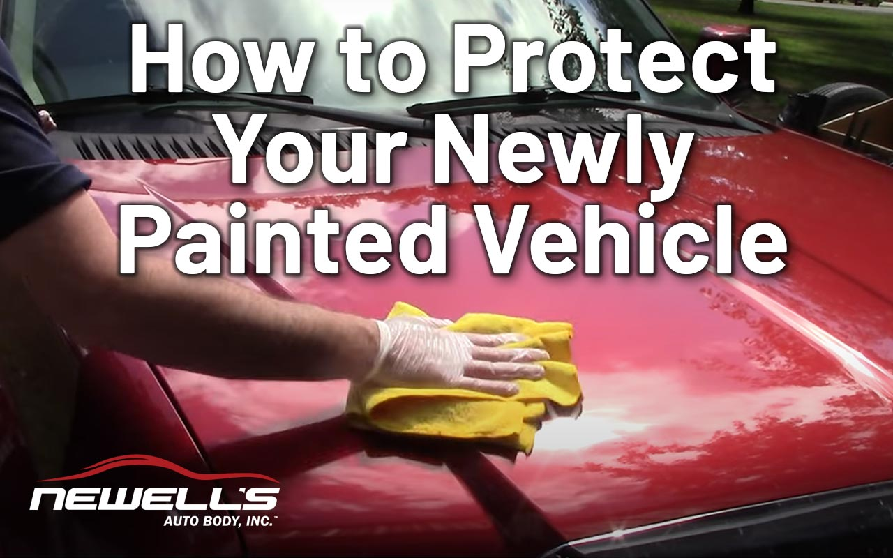 How to Protect Your Newly Painted Vehicle