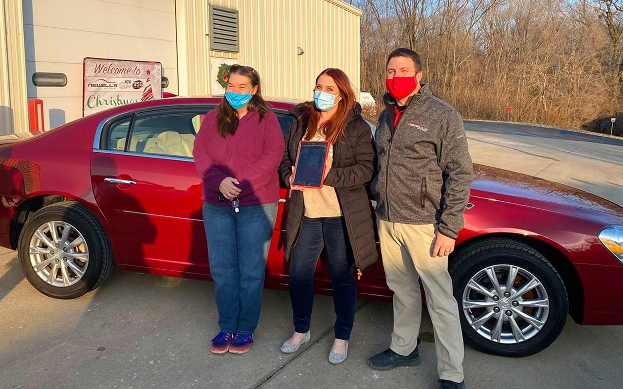 Newell's Auto Body Christmas Wish Benevolence Program