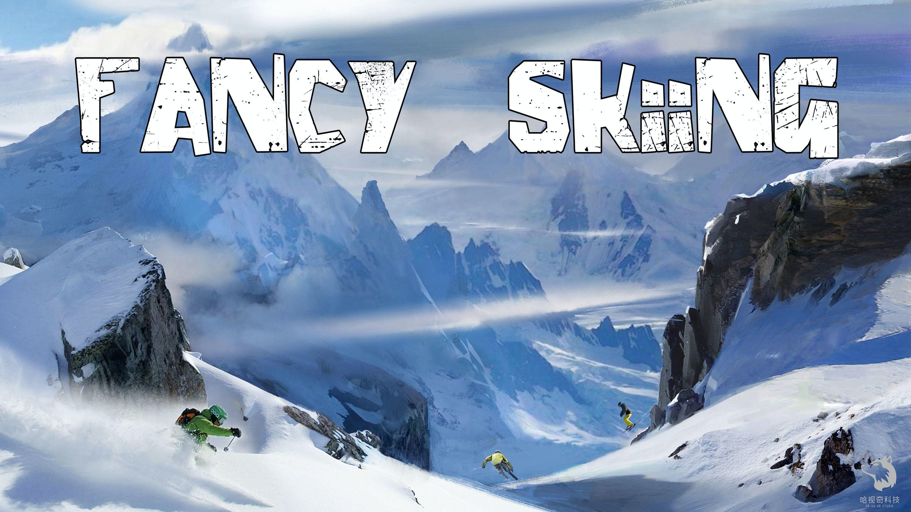 Fancy Skiing