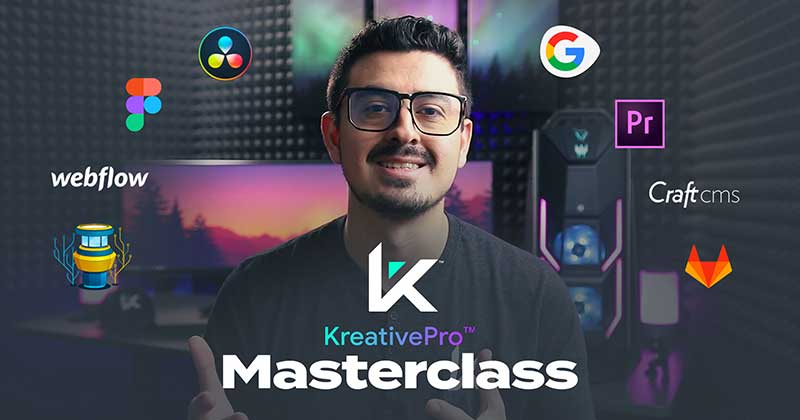 The KreativePro Masterclass Cover