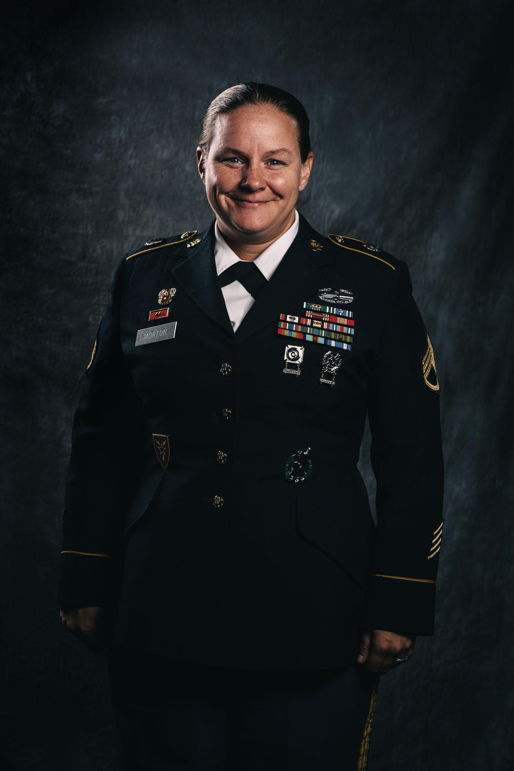 Staff Sergeant Patricia Morton