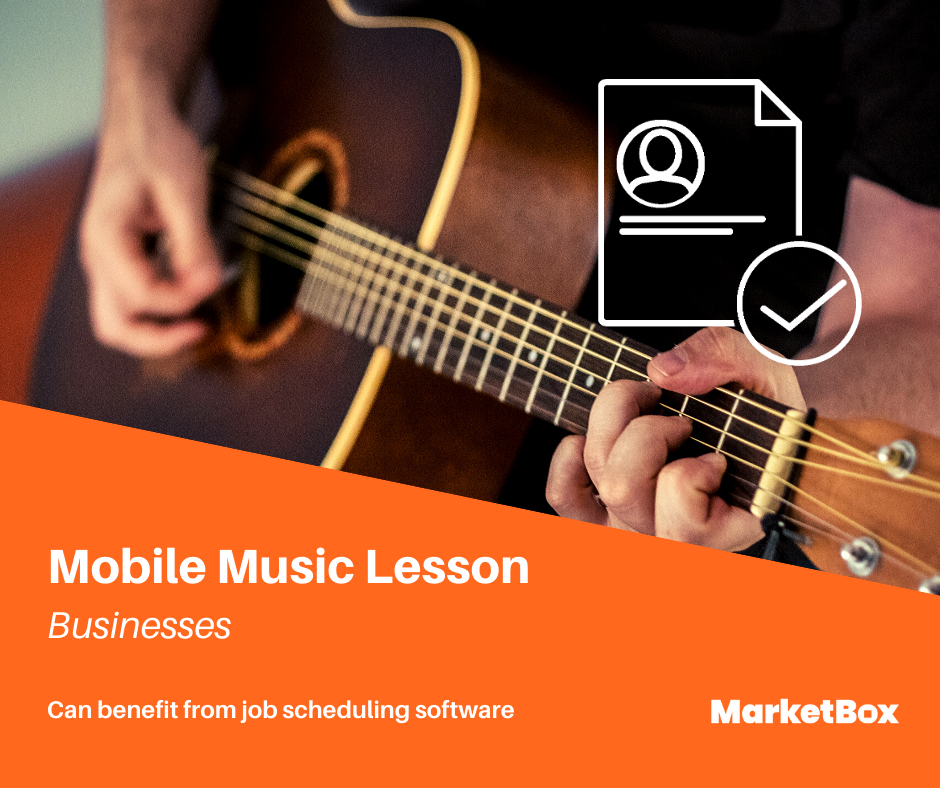 Service Scheduling Software - Mobile Music Lessons