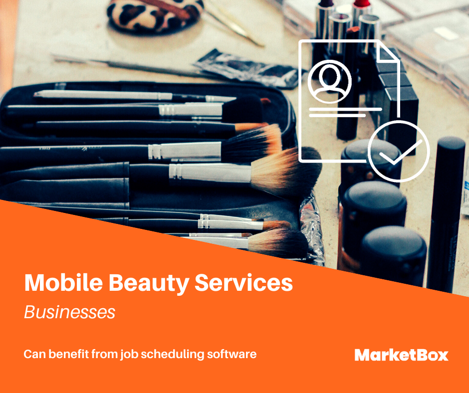Service Scheduling Software - Mobile Beauty Services